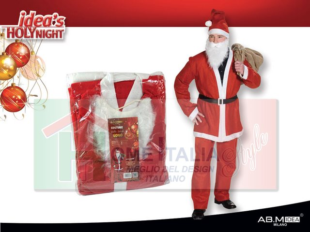 COSTUME BABBONATALE ADULTO HX800924