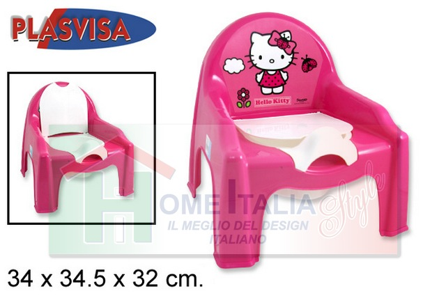 SEDIA VASINO HELLO KITTY 036845