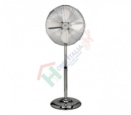 VENTILATORE PIANTANA CROMATO D.50   VE1675