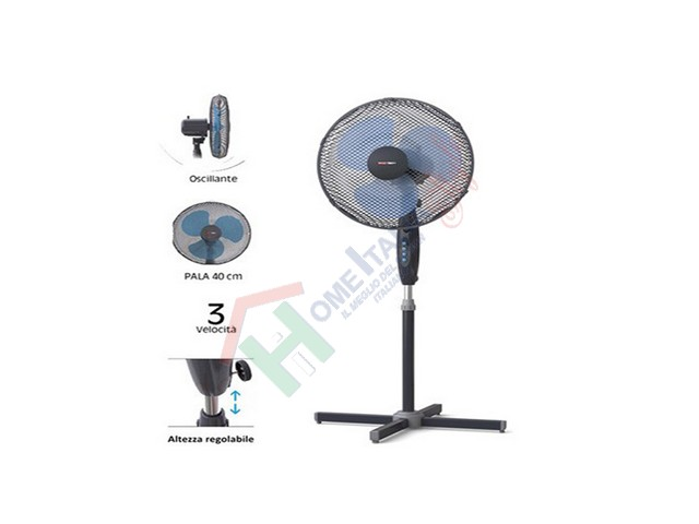 *VENTILATORE PIANTANA D.40 45W GD272