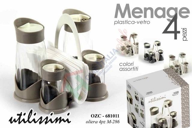 MENAGE 4 PZ ASSORTITE 681011