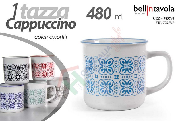 TAZZA LATTE 480ML ASSORITITA