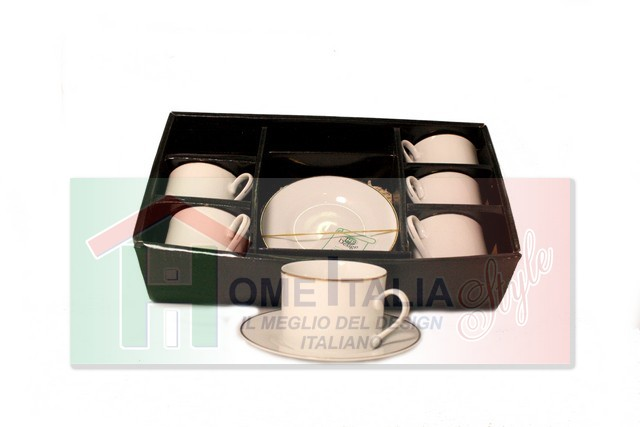 TAZZA THE 6 PZ F.ORO CILIND.MC96145