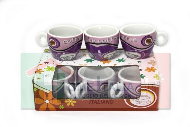 TAZZA COFFEE 6 PZ 171174