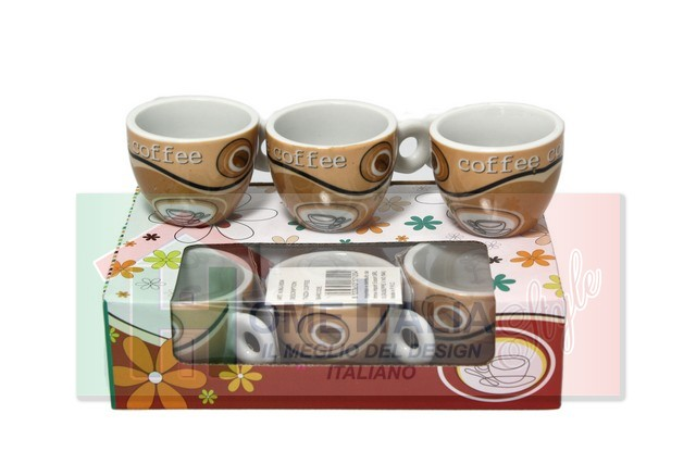 TAZZA COFFEE 6 PZ 171204