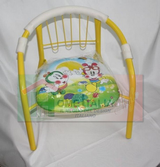 SEDIA BABY MUSICALE