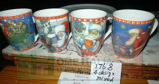 *TAZZA LATTE DEC. NATALIZIA AC-2588
