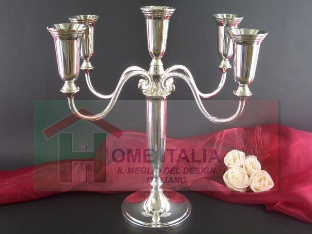 P/CANDELE SILVER 5 FIAMME H.32 22275