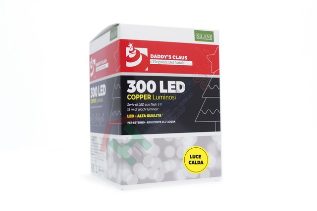 300 LED COPPER LIGHT FLASH CALD.1