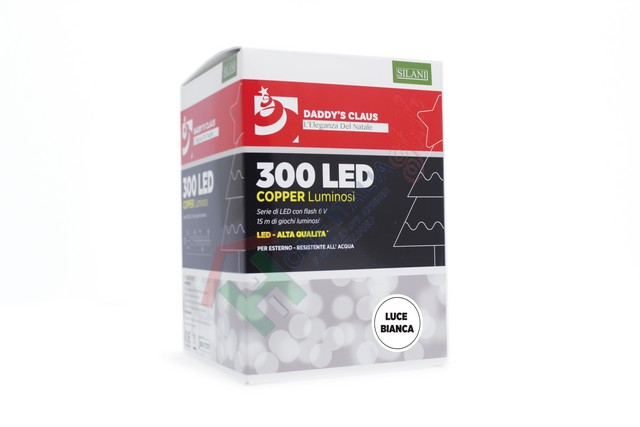 300 LED COPPER LIGHT FLASH BIAN.1