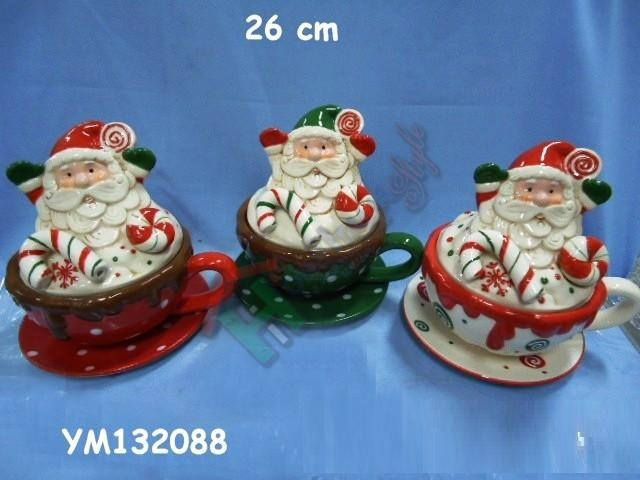 TAZZA BABBO NATALE CER.YM132088