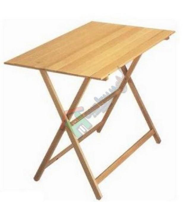 Tavolo 60x100 legno line pieghevole tav0058 tavoli for Tavolo legno bimbi