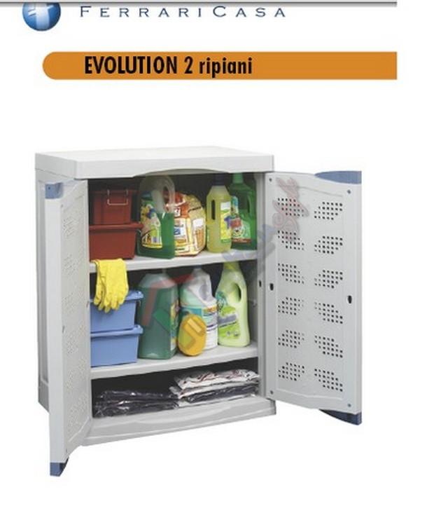 Evolution mobile 2 ripiani 6030 cm 70x47xh90 ther010 - Mobile portafrutta ...